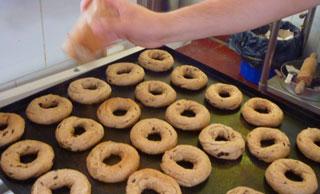 Elaboración de bagels